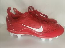 Nike Red Lunar Hyperdiamond Pro 2 Women's Softball Cleats Size 9 NEW