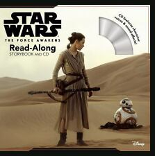 BRAND NEW FIRST EDITION Star Wars the Force Awakens Read-Along Storybook and CD