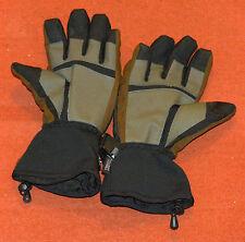 Seirus thermo lite dry hand ski gloves mens medium black brown