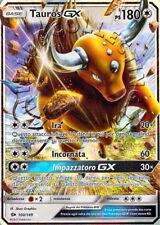 POKEMON: CARTA TAUROS GX - SUN & MOON 100/149 - in italiano