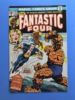 FANTASTIC FOUR #147 THE SUB-MARINER STRIKES!  Marvel 1974 SHARP!