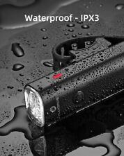 ROCKBROS Bike Light Rainproof USB Rechargeable LED Lights Front Lamp Headlights