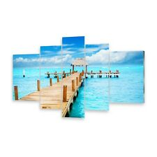 Multi Picture Acrylic Glass Pictures Wall Art Bar Island Mujeres