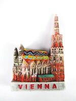Wien Stephansdom Vienna Österreich Poly Magnet Souvenir Austria,Neu