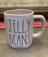 Rae Dunn By Magenta - LL JELLY BEANS - Pink Ceramic Coffee Mug - Easter 🐣Spring