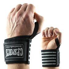 Strongman-Handgelenkbandagen mit extra breitem Klettverschluss C.P. Sports sws