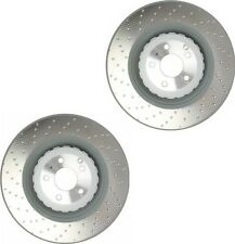 Mercedes W216 W221 CL63 CL65 S63 S65AMG Set of 2 Front Disc Brake Rotors Genuine