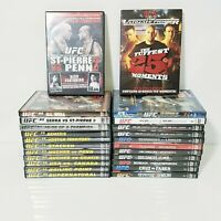 UFC Ultimate Fighting MMA Mixed Martial Arts DVDs - Lot of 24