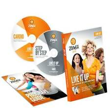 Zumba Wellness DVDs: Gold LIVE IT UP 2 DVD Set (OFFICIAL)