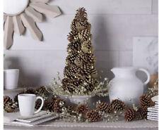 NIOB Martha Stewart 5' Pinecone Garland with Ornaments.  H217595