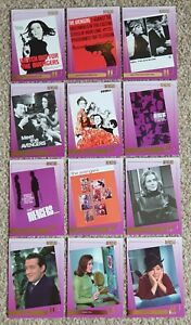 THE AVENGERS - Complete Chase Set - 12 GOLD FOIL cards - Strictly Ink 2003