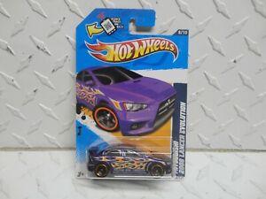 2012 Hot Wheels #158 Mitsubishi 2008 Lancer Evolution