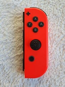🕳Genuine Nintendo Switch Joy Con Right (Plus) Official Neon Red 🕳