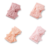 NEW Baby Girl Infant Toddler Bow Topknot Soft Headwrap Headband Head Band Wrap