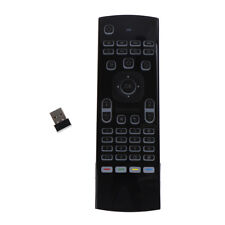 1X mx3 fly air mouse with voice ir learning  pro backlit 2.4g wireless keyboard#
