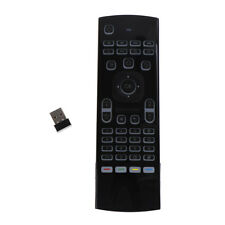 Mx3 fly air mouse with voice ir learning  pro backlit 2.4g wireless keyboard RS