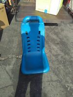midway california speed arcade plastic seat/chair