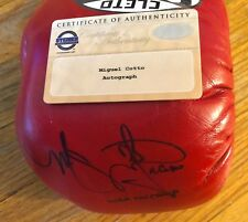 Miguel Coto Professional Boxing Gloves Sign And Inscribed