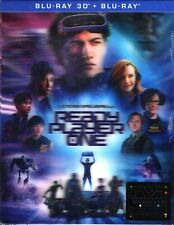 NEW Ready Player One 3D Double Lenticular SteelBook Blu-ray Manta Lab Exclusive