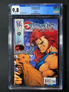 Thundercats #2 CGC 9.8 (2002) - Variant Cover - RARE 1 of 2 9.8! New Movie!