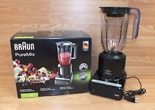 Braun (JB 7000) Black PureMix Work Top Jug Blender With Pulse Feature **READ**
