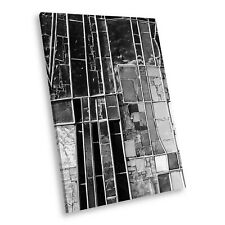 AB1178 Black White Abstract Portrait Canvas Picture Print Large Wall Art Cool