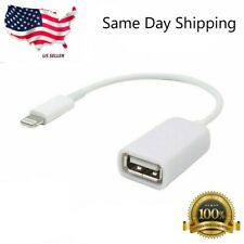 A14 8 Pin Male To USB Female OTG Adapter Lightning Cable iPhone 5/5S/5C 6/6S/7