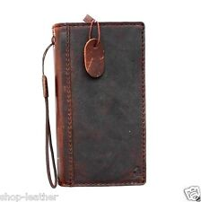 genuine 100% leather Case fit HTC ONE M8 book wallet handmade retro slim m 8 pro