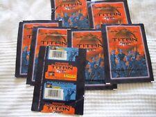 7 Tüten TITAN A.E. je 5 Bilder, Science Fiction Serie von 2000 TOP, OVP