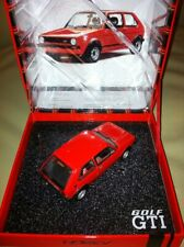 RARE NOREV RED VW GOLF MK1 GTI 30 YEAR ANNIVERSARY PRESENTATION CLAPPER BOX 1:43
