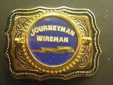 JOURNEYMAN WIREMAN   Belt Buckle   USA Made!