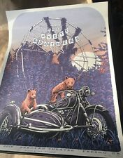 THE AVETT BROTHERS FRESNO CA 3/29/2018 SIGNED NUMBERED POSTER AP #/50 seth scott