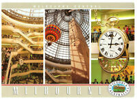 Melbourne Central Shopping Centre, Melbourne, Australia Rare Multiview Postcard