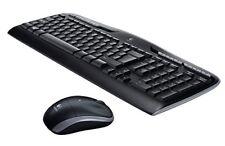 Logitech Wireless Combo MK330 schnurlose Tastatur und Computermaus (2,4GHz,