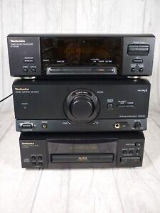 Technics HiFi Stereo Trio-Amplifier SE-CH540 Tuner ST-CH540 & CD PlayerSL-CH570