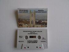 Organ Music ~The Organ of Ludlow Parish Church ~ Richard Francis ~ CASSETTE TAPE