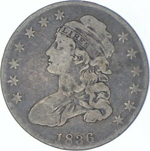 1836 Capped Bust Half Dollar - Charles Coin Collection *522