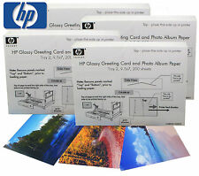 "HP Glossy Greeting Card & Photo Album Paper 800 Sheets 9.5 X 7"" (SQ8033)"
