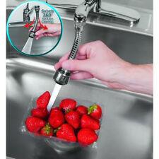 360 Robinet Cuisine Pivotant Pulvérisation Lavabo Tuyau Flexible Faucet Évier NF