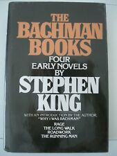 The Bachman Books Stephen King 1985 NAL Hardcover   - Excellent unread Copy VG++