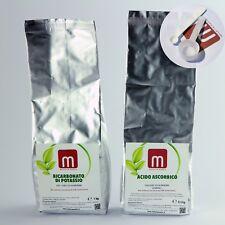 ASCORBATO DI POTASSIO 1,5 kg NO OGM + MISURINI