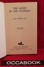 The Quest of the Overself - Paul Brunton | book | livre