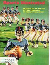 1967 Sports Illustrated,Football magazine,Fran Tarkenton,Minnesota Vikings~ Fair