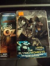 MCFARLANE MONSTERS TWISTED LAND OF OZ FLYING MONKEYS COLLECTOR'S CLUB EXCLUSIVE