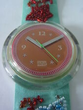 PWZ106 New Swatch - 1993 Pop Soupe De Poisson Special Swiss Made Authentic