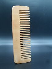 Natural Wood Wooden Moustache Pocket Anti-Static Hair Care Wide Tooth Comb