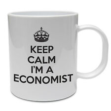 Keep Calm I'm economista-Economia / notizie / Business a tema TAZZA IN CERAMICA