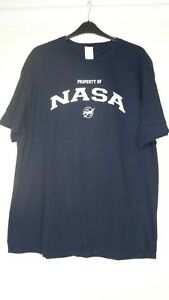 BNWOT  TENNESSEE RIVER NAVY & WHITE 'NASA' PURE COTTON T TEE SHIRT TOP SIZE 2XL