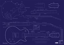 Gibson Les Paul® '59 Decorative Blueprint - A0 size
