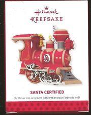 2013 Hallmark Santa Certified 1St In Series Ornament